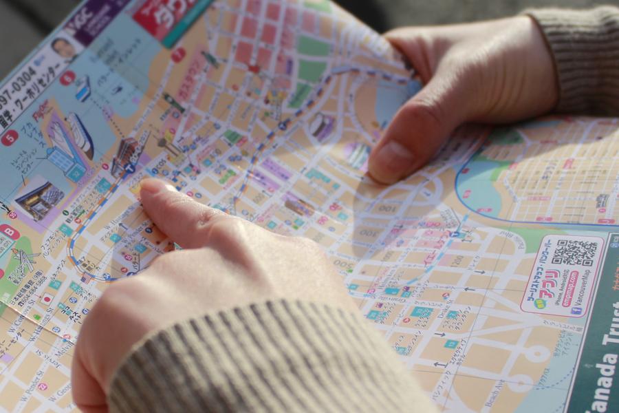 Tourist Map Vancouver Ck Marketing Solutions Inc